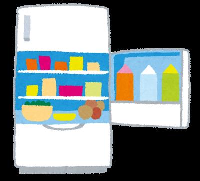 いっぱい冷蔵庫
